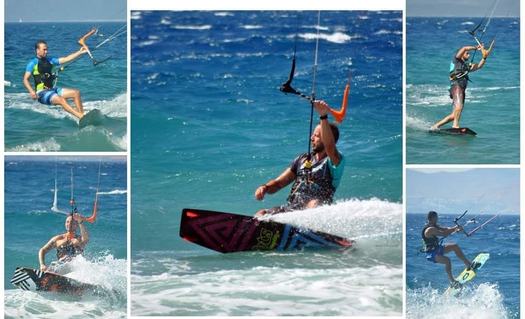 Kitesurf lesson
